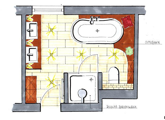 Planung Bad sanitär bäder sanitäranlagen